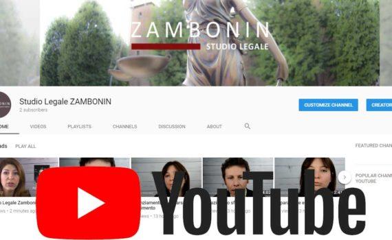 youtube studio legale